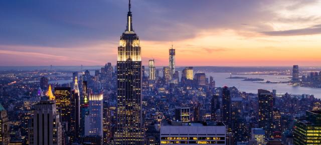 Vol A/R + Bus aux USA à NYC/Washington//Houston/San Franscisco/LA...