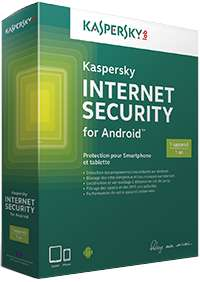 Anti virus Kaspersky Internet Security Premium 1 an pour Android