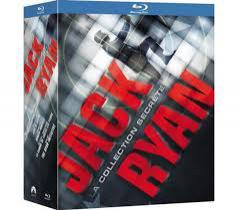Coffret Blu-Ray Jack Ryan la collection secrète (5 films)