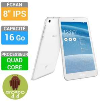 """Tablette 8"""" Asus Memo Pad 16Go (ME181CX) - Blanc, jaune ou violet"""