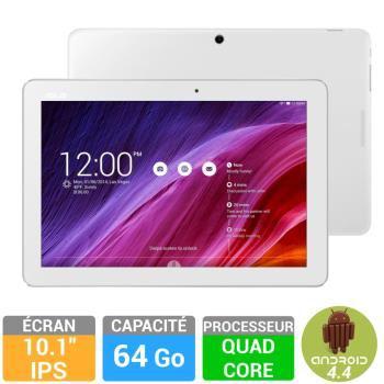 "Tablette 10.1"" Asus Memo Pad 64Go - Blanche"