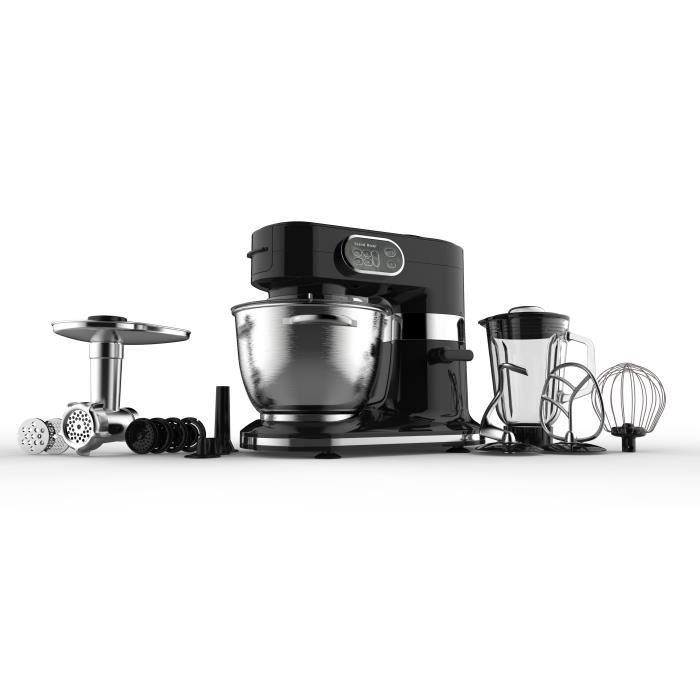 Robot multifonction Continental Edison 1000W Noir