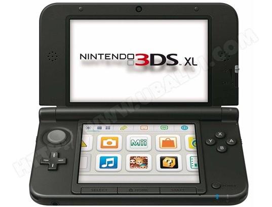 Console Nintendo 3DS XL - Bleu ou rouge