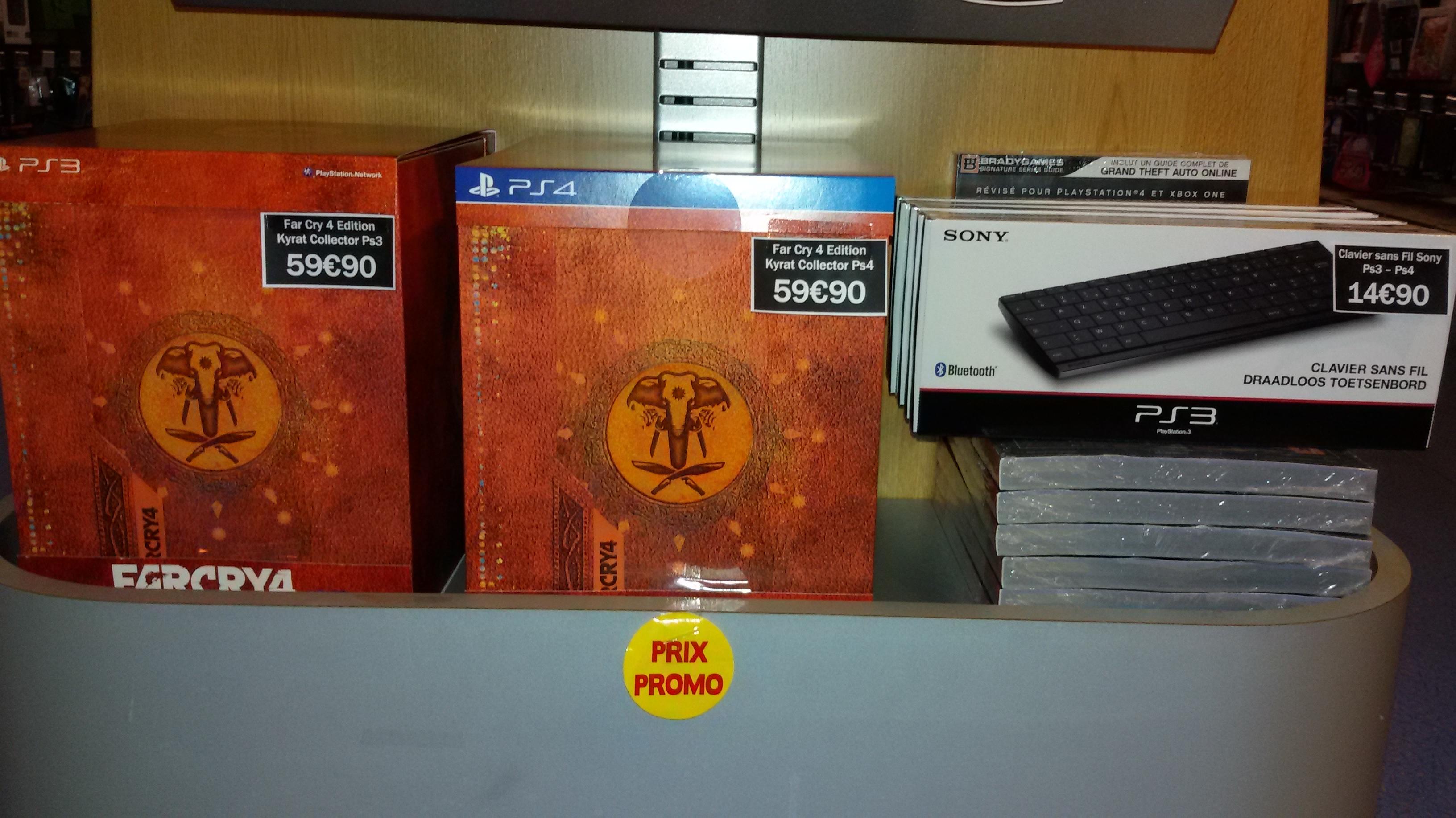 Far Cry 4 - Edition collector Kyrat sur PS4, PS3 et PC
