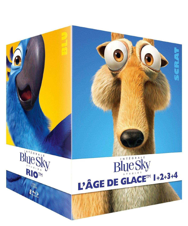 Coffret 8 Blu-ray - Blue Sky : L'intégrale des 8 films (inclus Epic, L'Age de Glace 1 à 4, Rio...)