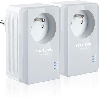 Pack de 2 CPL nano TP-Link 500Mbps avec prise filtrée