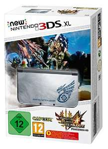 Precommande : Console New Nintendo 3DS XL + Monster Hunter 4 Ultimate - Edition limitée