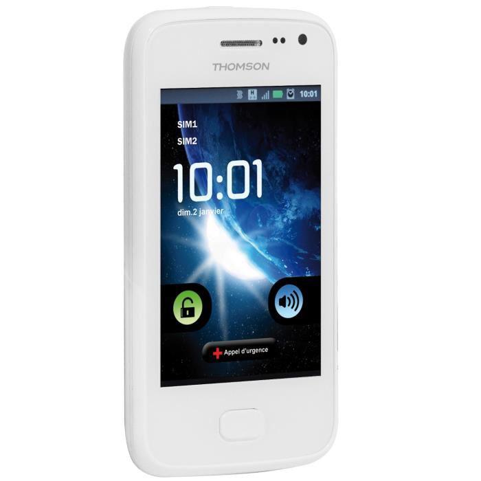 "Smartphone 3.5"" Thomson Tlink 361 Blanc"