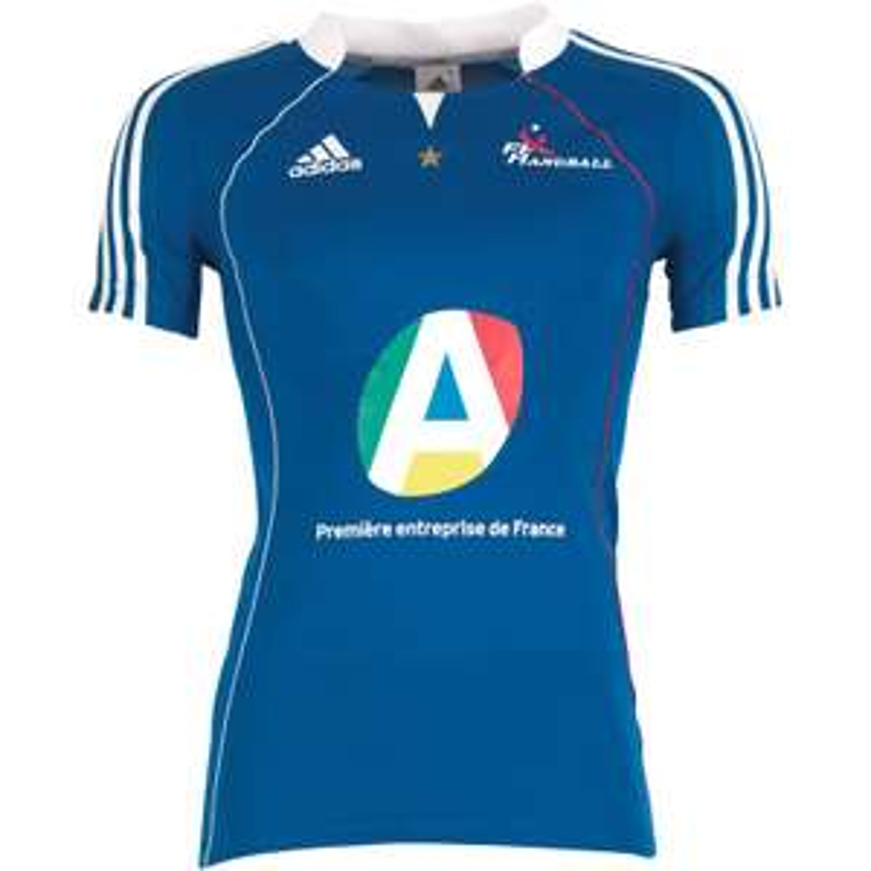 Maillot de Handball FFHB France Femme Bleu ou Blanc