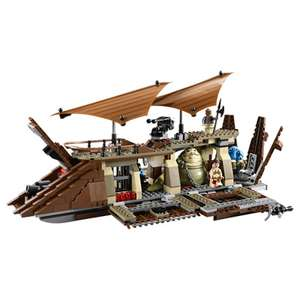 Jeu de construction Lego - Star Wars 75020 - Jabba Sail barge