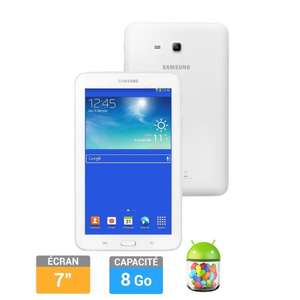 """Tablette tactile 7"""" Samsung Galaxy Tab 3 Lite - 8 Go - Blanche"""