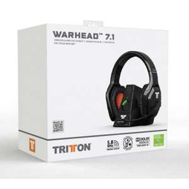 Casque gaming Tritton warhead 7.1 sans fil