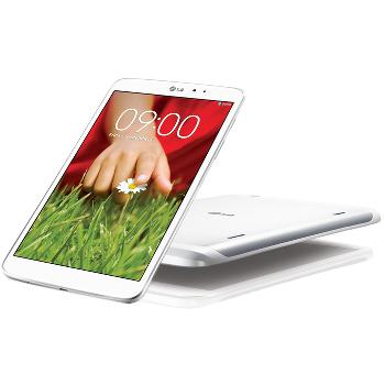 Tablette tactile LG G Pad 8.3 - Blanche + Coque arrière (ODR 30€)