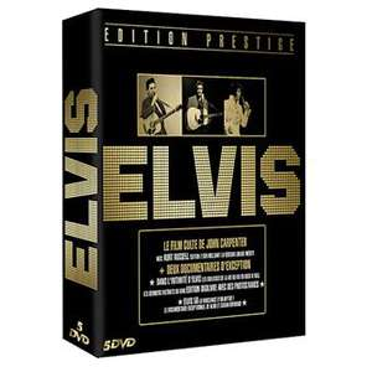 Coffret Prestige 5 DVD - Elvis Presley