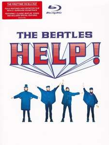 """Blu-ray - The Beattles """"Help"""" (Format digipack 4 volets + livret 16 pages + slipcase)"""