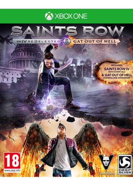 Précommande : Saints Row IV Re-elected - Gat Out of Hell sur Xbox One et PS4