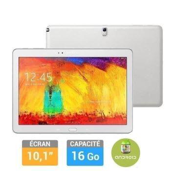 "Tablette Samsung Galaxy Note 10"" Edition 2014 - Blanc"