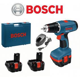Perceuse-visseuse Bosch GSR 12-2 12V + 3 batteries