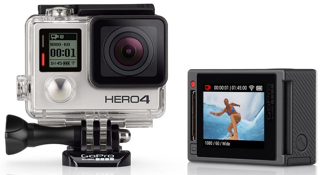 Camera Gopro Hero 4 Silver Edition 12 Mpix
