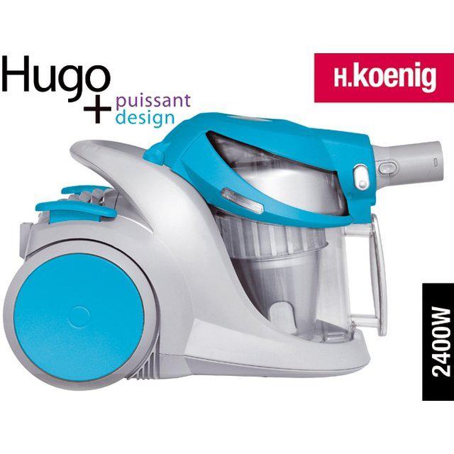 Aspirateur sans sac H.Koenig Hugo TC 30 - Plusieurs coloris