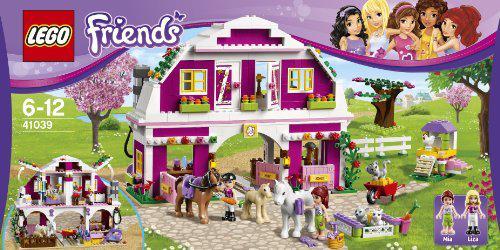 Lego Friends et autres jeux et jouets (Playmobile, Crazy Loom) à -70% Ex : Lego Friends 41039 Le Ranch Du Soleil