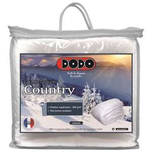 Couette chaude Dodo Country 220x240cm - 400g