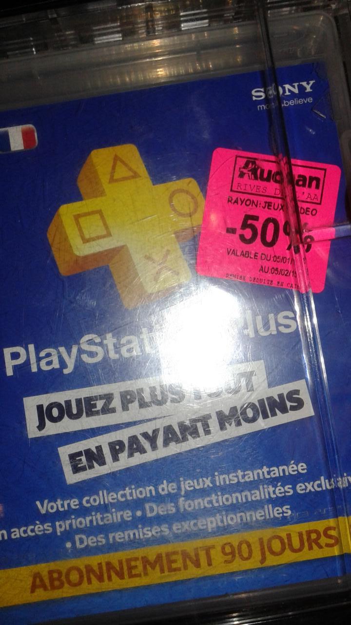 Abonnement de 90 jours au PlayStation Plus
