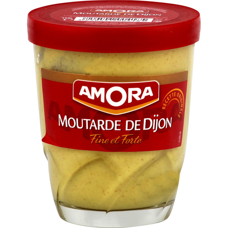 Verre à Moutarde de Dijon Amora gratuit