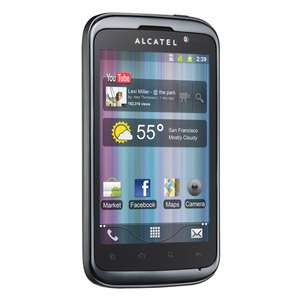 """Smartphone 4"""" Alcatel One Touch 991 - Noir"""