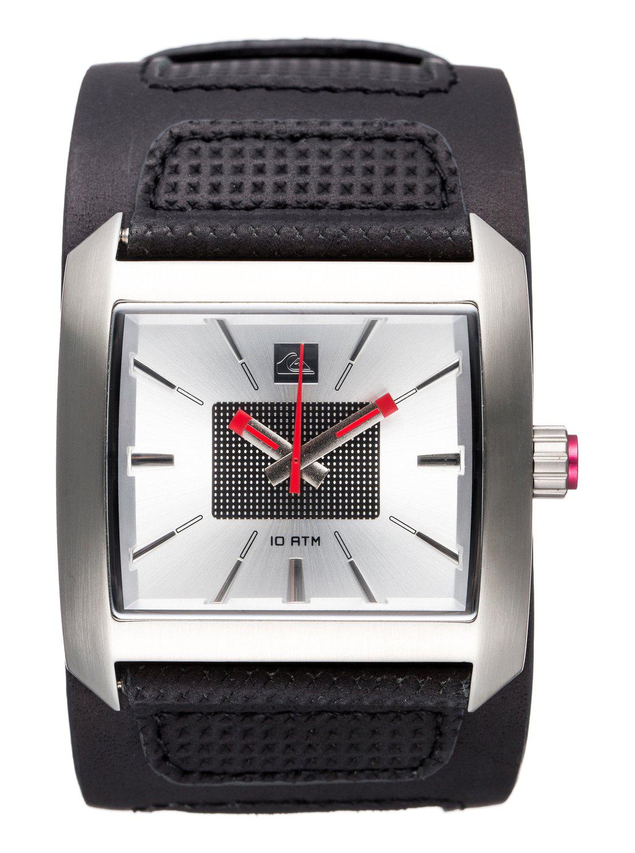Montre Quiksilver Sequence M ASIL - Bracelet cuir, 10atm