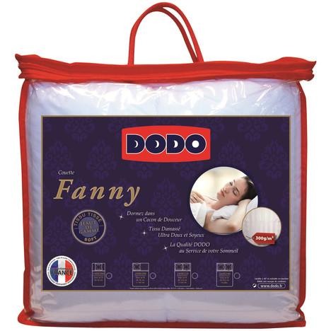 Couette Tempérée DODO Tissu ultra doux Fanny 300gr 140x200cm