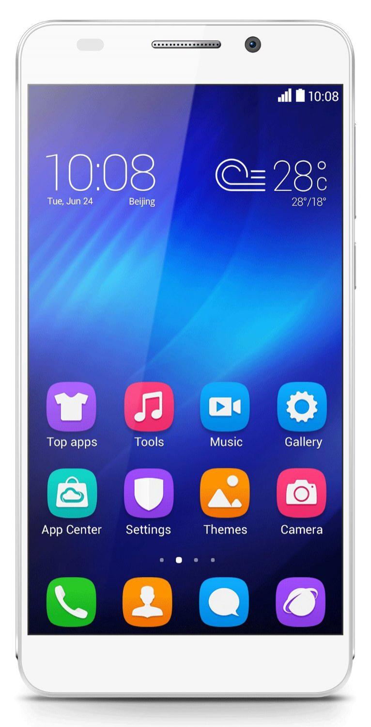 Smartphone Honor 6 Débloqué 4G+ - Blanc