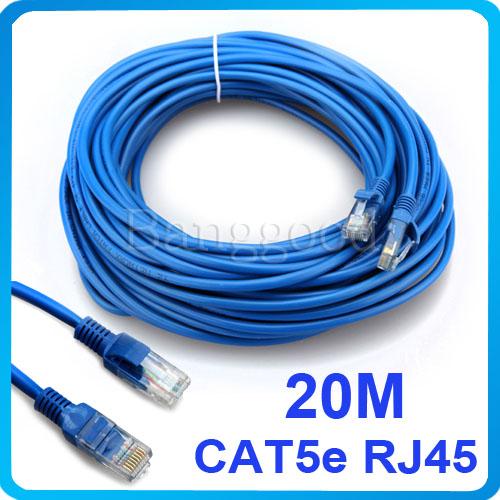 Câble réseau droit RJ45 Cat5e - Blindé 20M