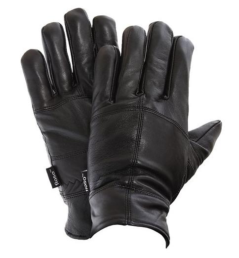 Gants Thinsulate en cuir véritable - Homme - XL