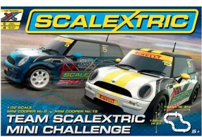Circuit team Scalextric Mini Challenge 1/32